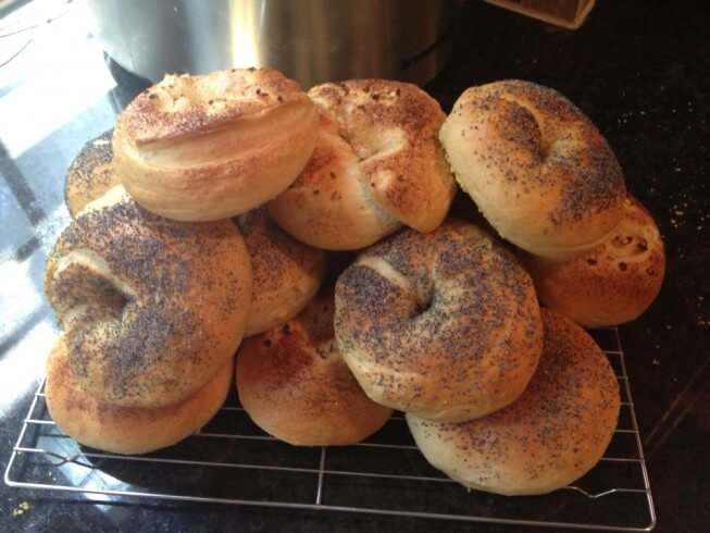 New York Style Bagels New York Style Bagels Recipe The | Party ...