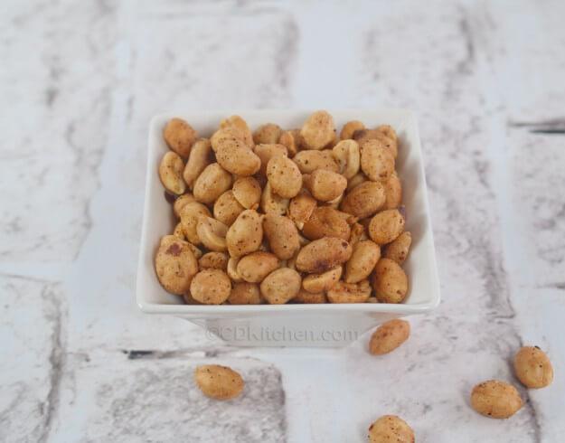 Spicy Peanuts Recipe from CDKitchen