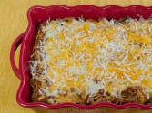 Photo of K&W Cafeteria Baked Spaghetti