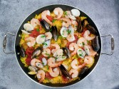 Photo of Shrimp And Sausage Paella Recipe on CDKitchen