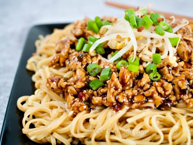 Dan Dan Noodles Recipe — Dishmaps