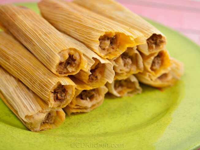 Real Homemade Tamales Recipe from CDKitchen