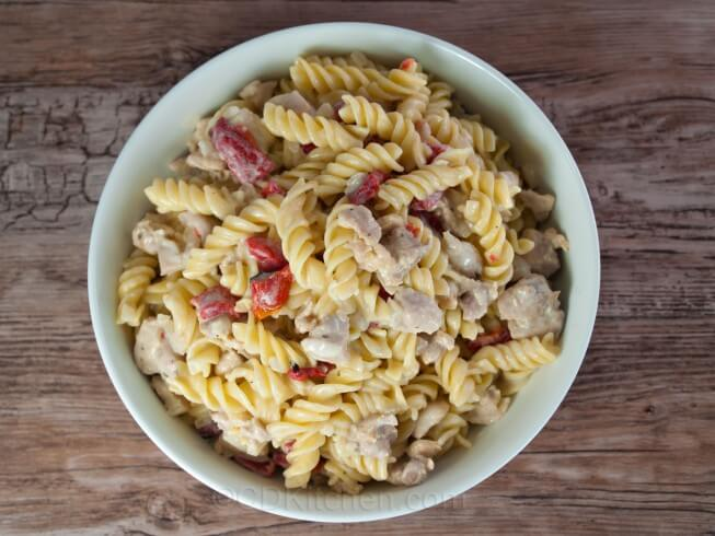 featured recipe: Ranch Chicken with Pasta