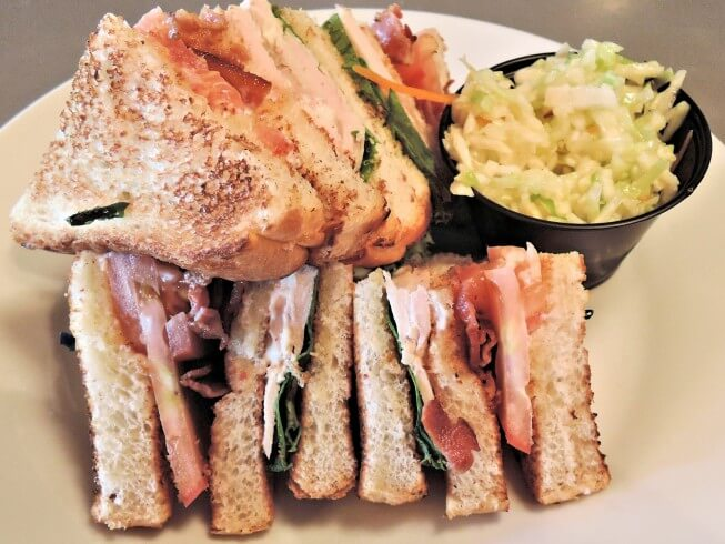 Triple Decker Turkey Club Sandwich