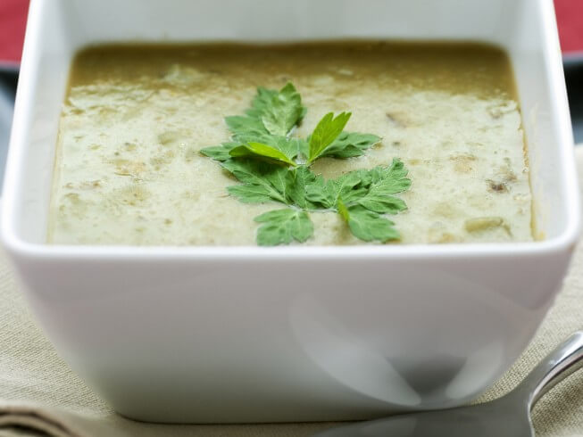 recipe for vegetarian split pea soup