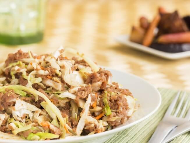 Mom's Corned Beef Hash & Cabbage Recipe | CDKitchen.com