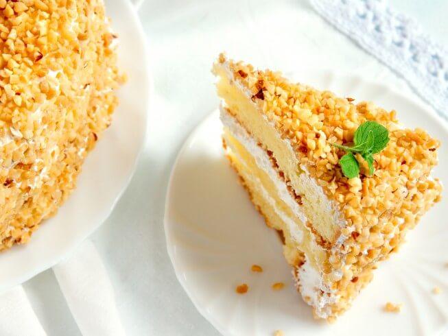 banana cream cake filling