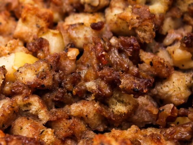 recipe for apple sausage stuffing