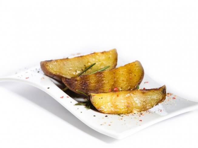 recipe for grilled potato wedges