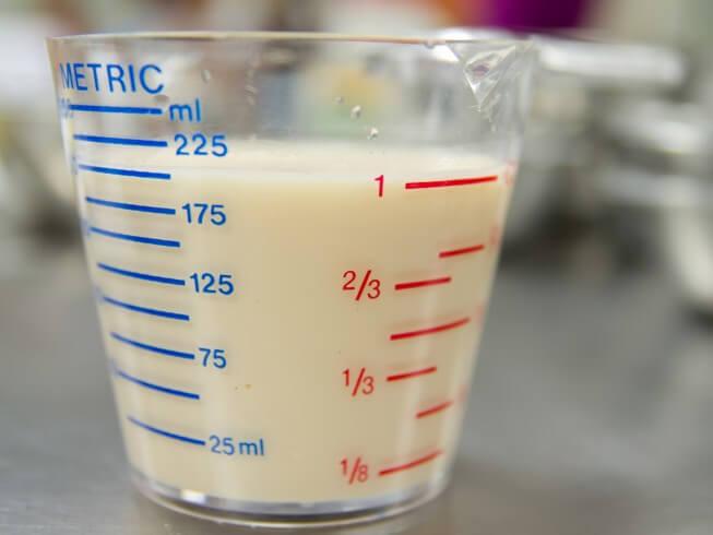 how to make heavy cream with skim milk