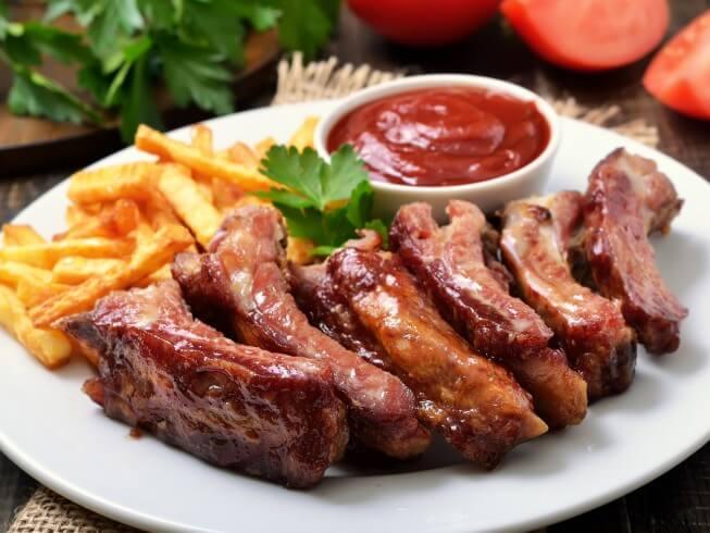 Barbecue Pork Loin Ribs