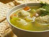 Moroccan-Style Matzo Ball Soup