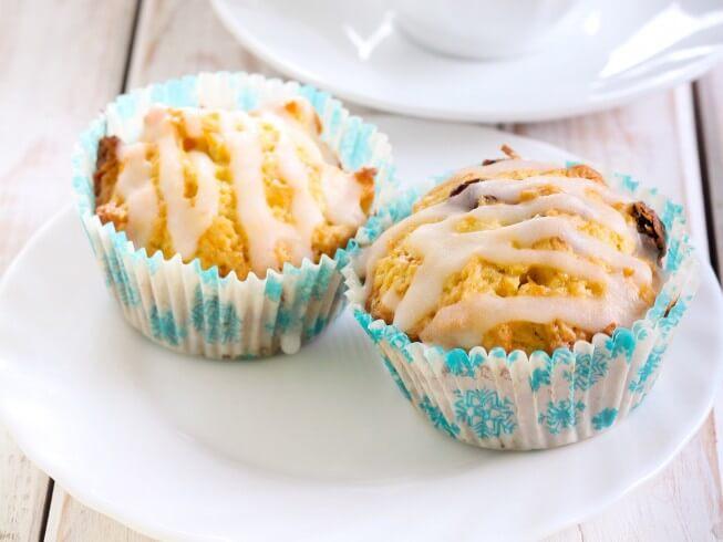 Currant Pumpkin Muffins