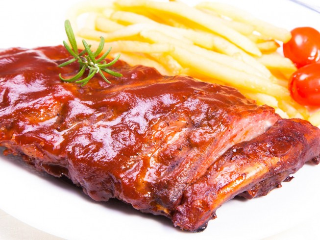 Crock Pot Western Style Ribs Recipe From Cdkitchen Com