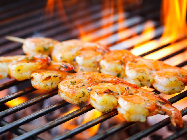 Mesquite Grilled Shrimp