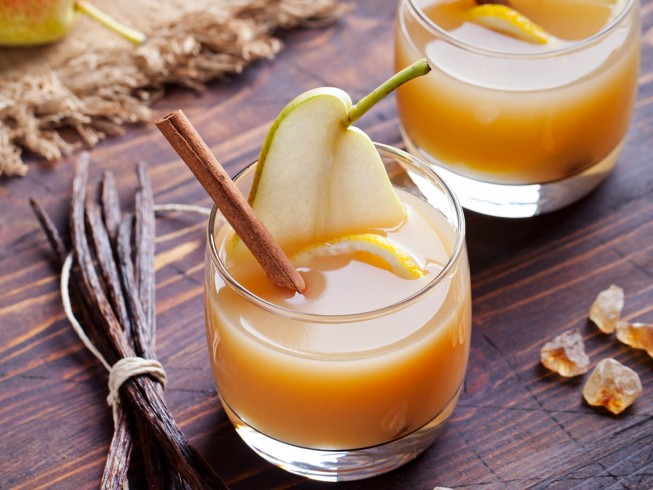 Hot Pear Toddy