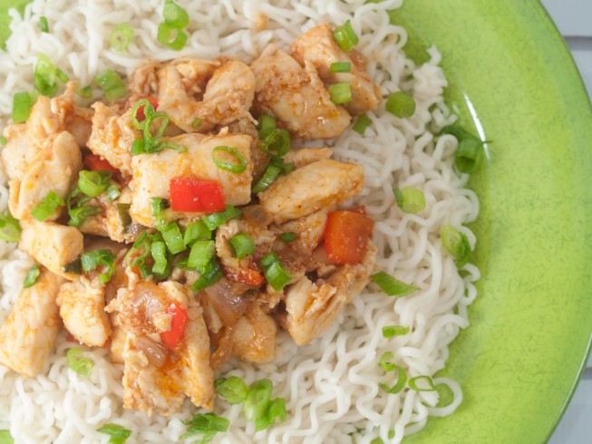 asian garlic chicken recipe