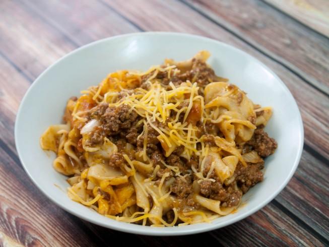 Italian Ground Beef Casserole
