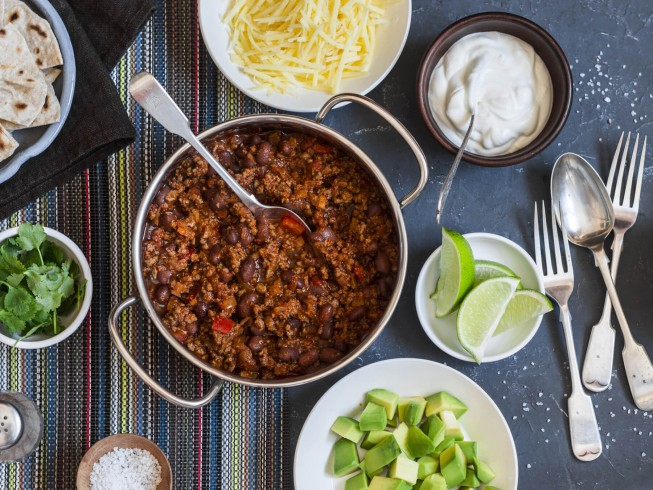 Amber Ale Beef And Black Bean Chili