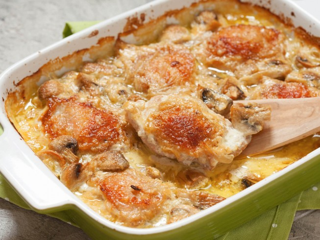 Easy Oven Baked Chicken Supreme