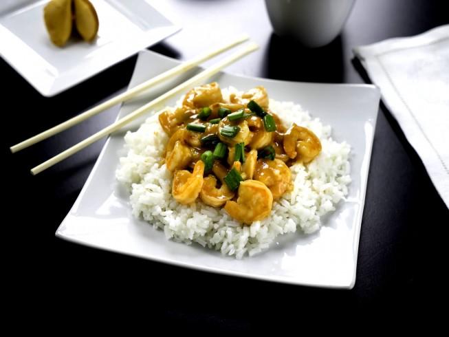 Szechuan Shrimp Stir-Fry