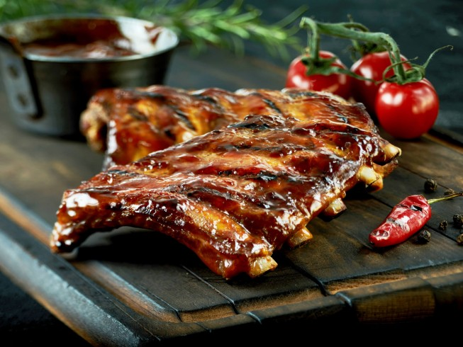 Kahlua Barbecued Ribs
