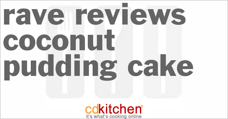 Rave Reviews Coconut Cake Recipe from CDKitchen