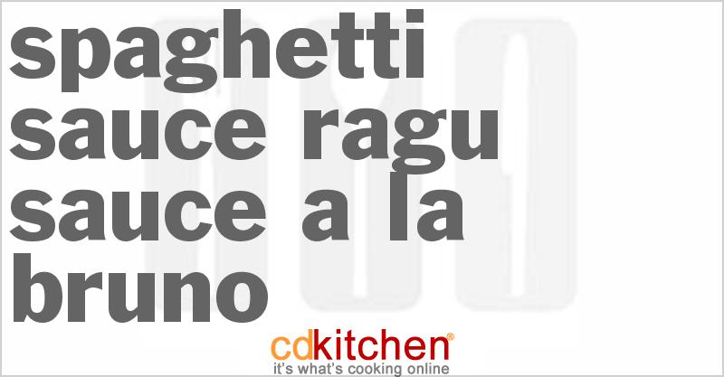 Spaghetti Sauce Recipe Spaghetti Sauce Ragu Sauce a