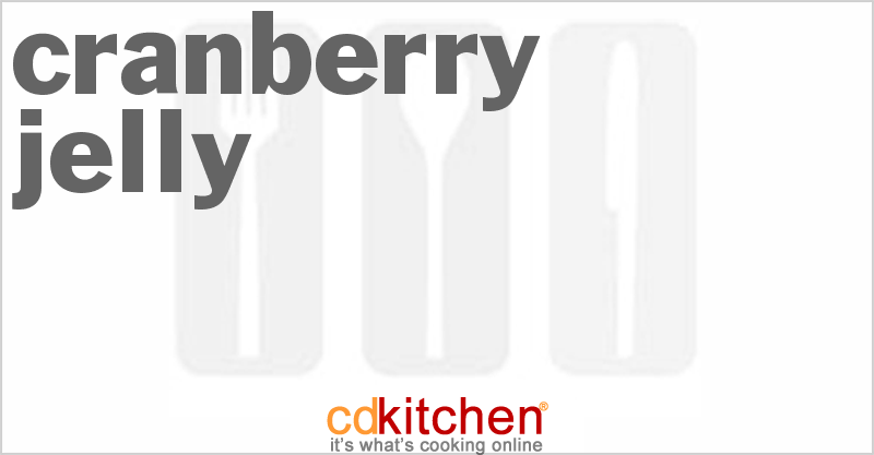 Cranberry Jelly and more recipes