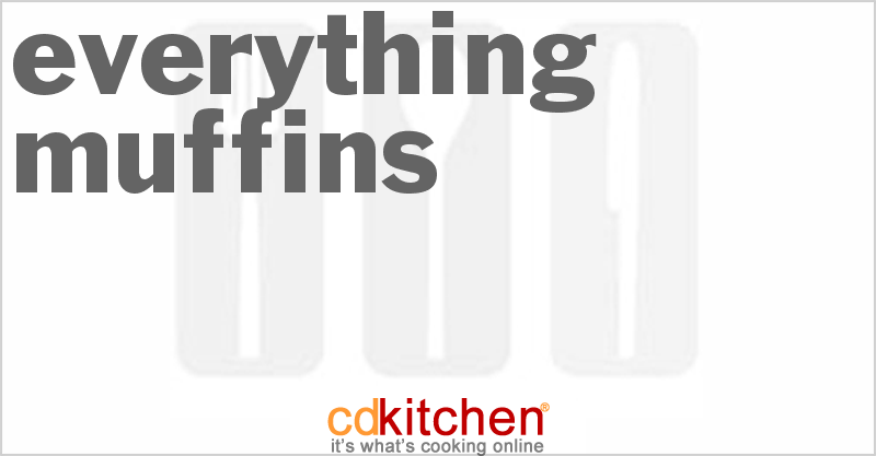 Everything Muffins and more recipes