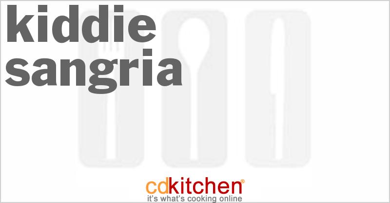 Kiddie Sangria Recipes — Dishmaps