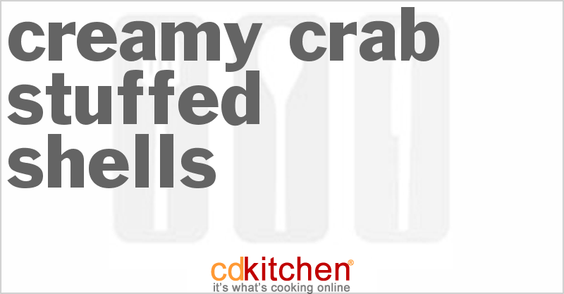 Creamy Crab-Stuffed Shells and more recipes