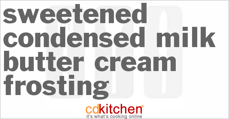 Butter Cream Frosting II Recipe — Dishmaps