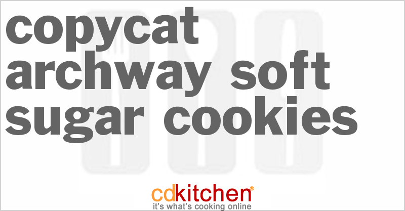 Archway Soft Sugar Cookies and more recipes