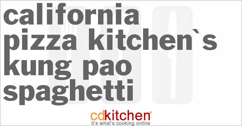 Kung Pao California Pizza Kitchen