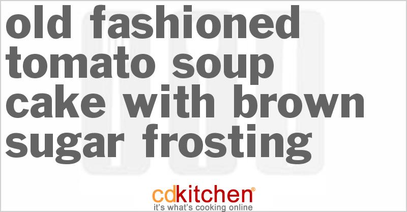 Tomato Soup Spice Cake Mix Recipe