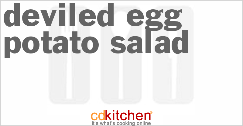 Deviled Egg Potato Salad and more recipes