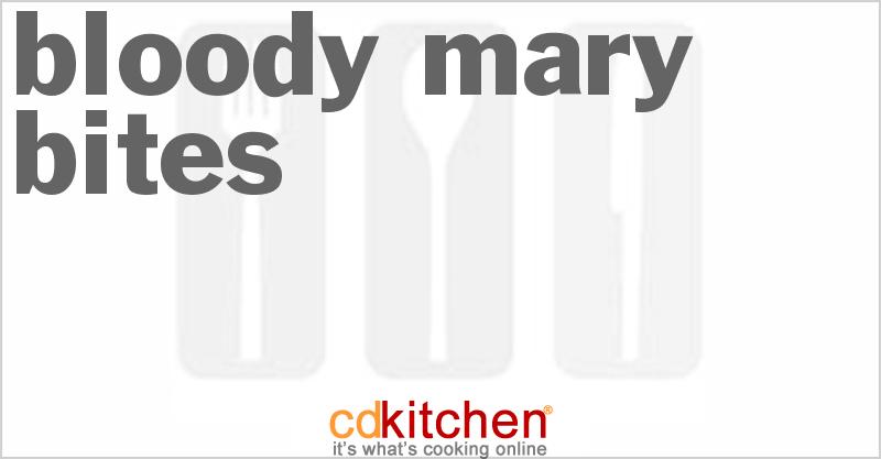 Bloody Mary Bites Recipe   CDKitchen.com