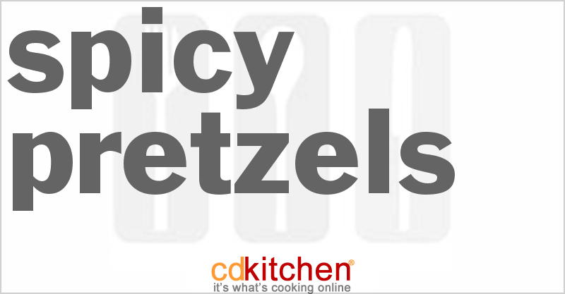 Spicy Pretzels and more recipes