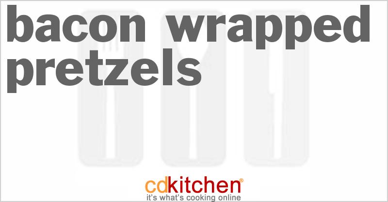 Bacon Wrapped Pretzels Recipe   CDKitchen.com
