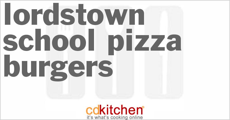 Mozzarella Stuffed Mushroom Pizza Burgers Recipe From | Share The ...