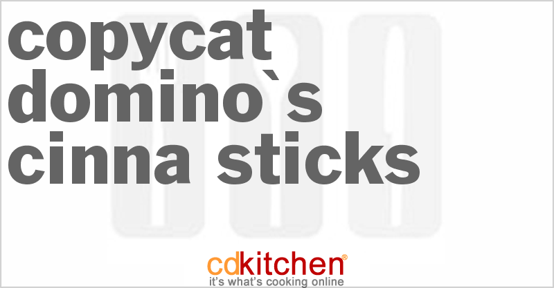 Domino's Cinna Sticks and more recipes