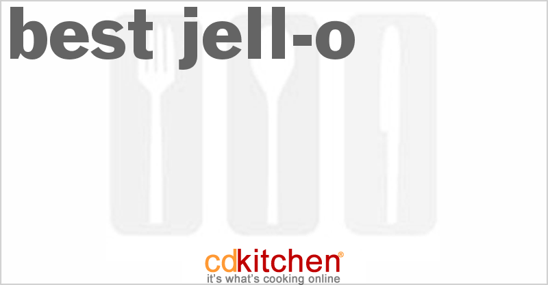 Best Jell-O and more recipes
