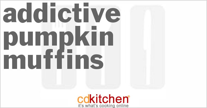 Pumpkin Or Winter Squash Muffins Recipe from CDKitchen