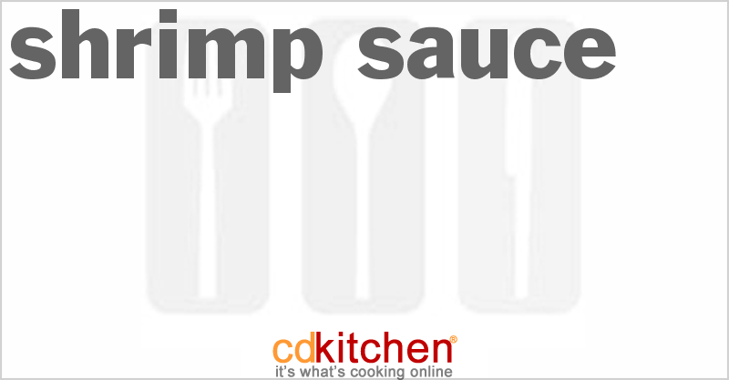 Shrimp Sauce and more recipes