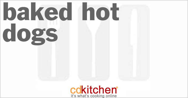 Baked Hot Dogs and more recipes