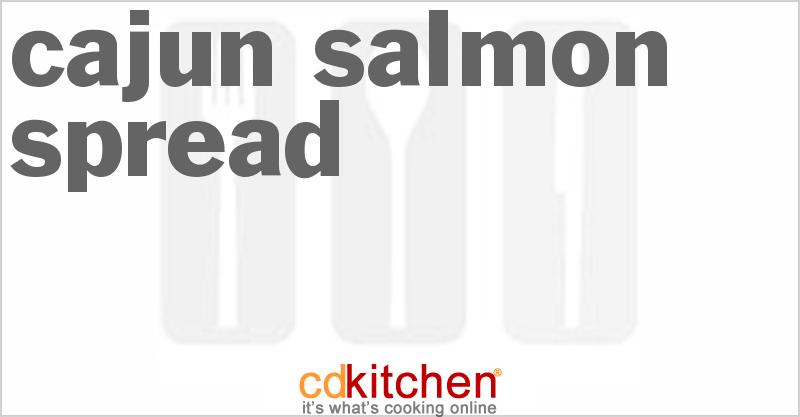 Cajun Salmon Spread - CDKitchen.com