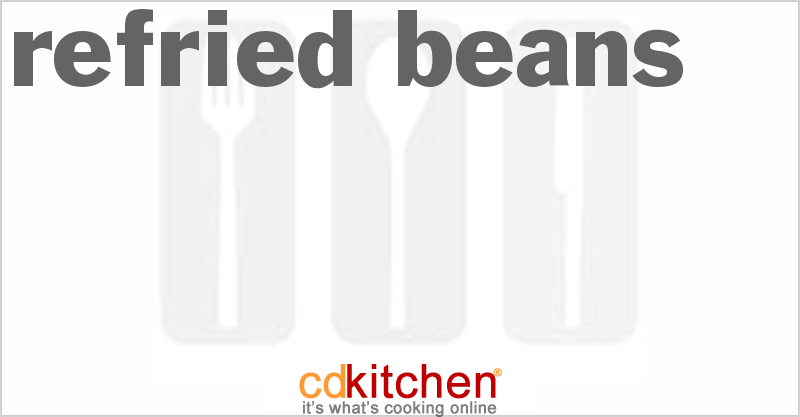 Refried Beans and more recipes