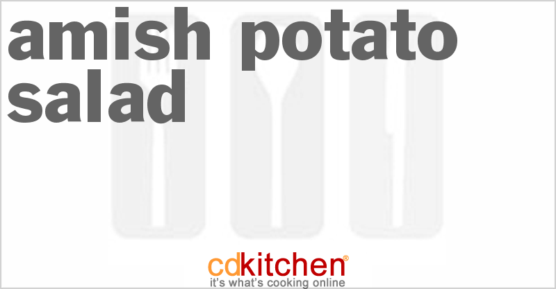 Amish Potato Salad and more recipes