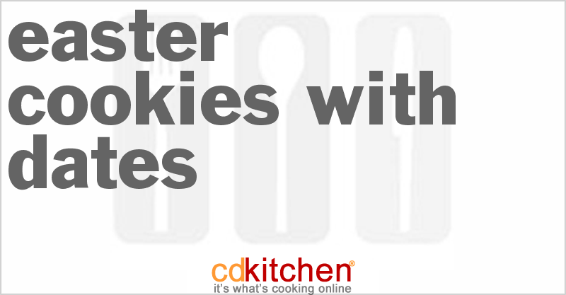 Kaak Bi Ajwa (Easter Cookies With Dates) and more recipes